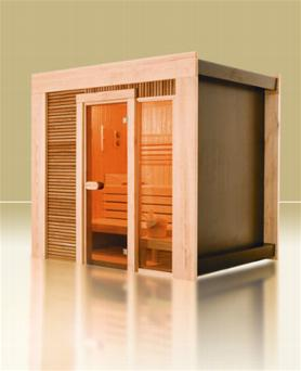 gamme prestige sauna infrarouge ou sauna traditionnel. Black Bedroom Furniture Sets. Home Design Ideas